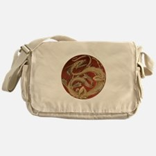 Vintage Dragon Messenger Bag