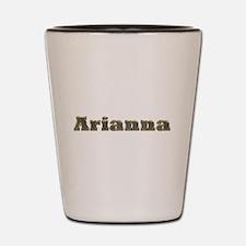 Arianna Gold Diamond Bling Shot Glass