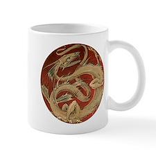 Vintage Dragon Mugs