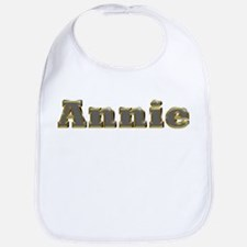 Annie Gold Diamond Bling Bib