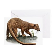 Fossa Greeting Cards (Pk of 20)