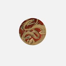 Vintage Dragon Mini Button (10 pack)