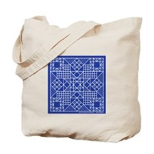 Evening Stars Blue Tote Bag