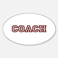 COACH Oval Decal