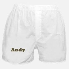 Andy Gold Diamond Bling Boxer Shorts