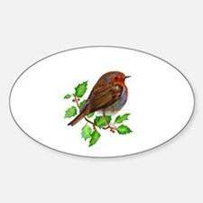 Robin Bird, Robin Redbreast, Painting Decal