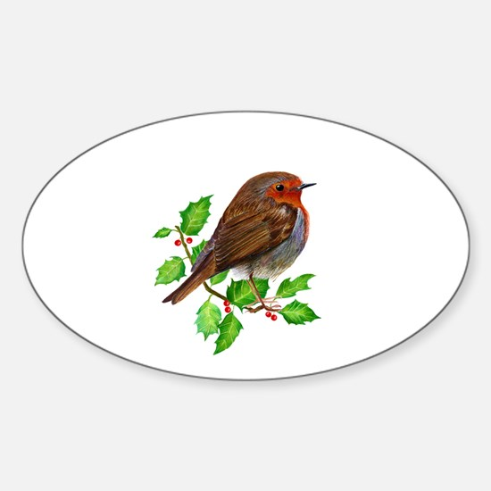 Robin Bird, Robin Redbreast, Painting Decal