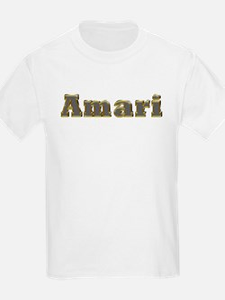 Amari Gold Diamond Bling T-Shirt