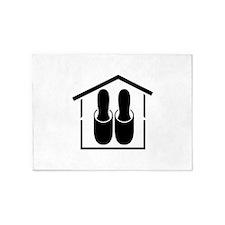 House shoes 5'x7'Area Rug