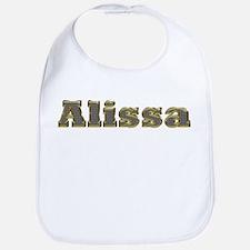 Alissa Gold Diamond Bling Bib