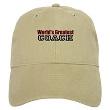 World's Greatest Coach Baseball Baseball Cap