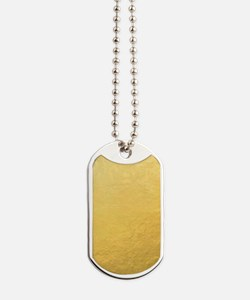 Gold Foil Effect Dog Tags