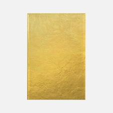 Gold Foil Effect Rectangle Magnet