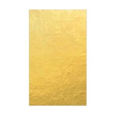 Gold Foil Effect Decal