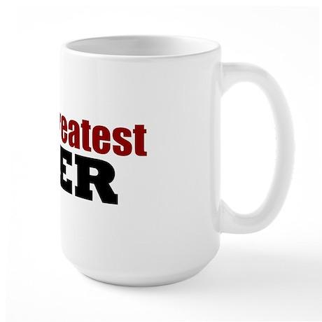 World's Greatest Lover Large Mug