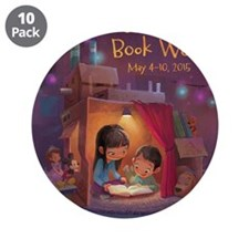 "2015 Children's Book Week 3.5"" Button (10 pack)"