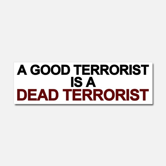 Dead Terrorist Car Magnet 10 X 3