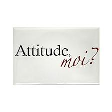 Attitude, Moi? Rectangle Magnet