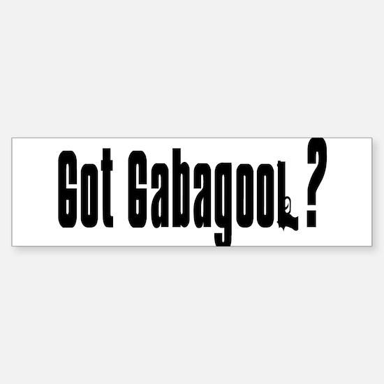 Got Gabagool? Bumper Car Car Sticker