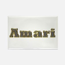 Amari Gold Diamond Bling Rectangle Magnet