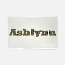 Ashlynn Gold Diamond Bling Rectangle Magnet