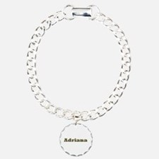 Adriana Gold Diamond Bling Bracelet