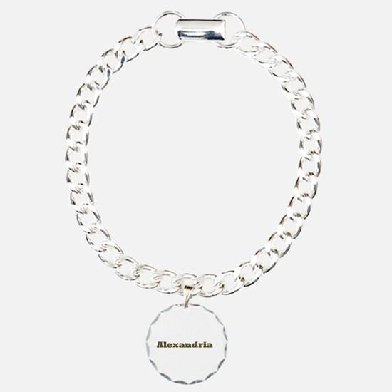 Alexandria Gold Diamond Bling Bracelet
