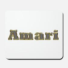 Amari Gold Diamond Bling Mousepad