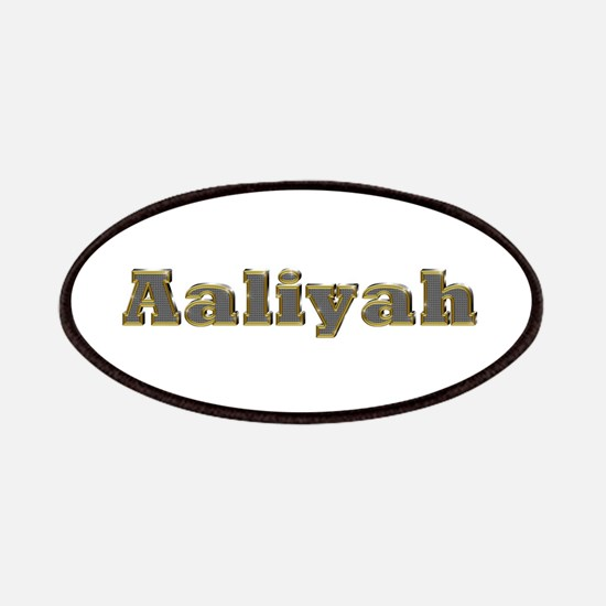 Aaliyah Gold Diamond Bling Patch