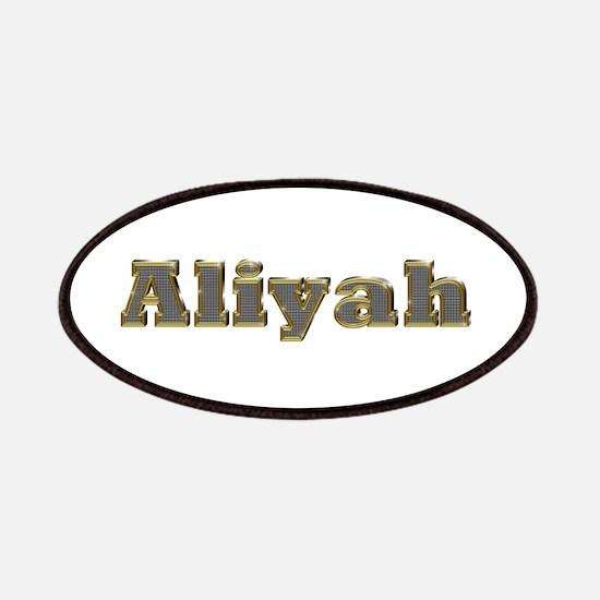 Aliyah Gold Diamond Bling Patch
