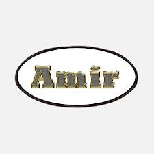 Amir Gold Diamond Bling Patch