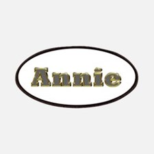 Annie Gold Diamond Bling Patch