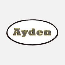 Ayden Gold Diamond Bling Patch