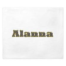 Alanna Gold Diamond Bling King Duvet