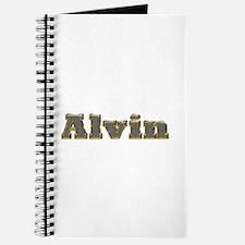Alvin Gold Diamond Bling Journal