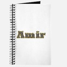 Amir Gold Diamond Bling Journal