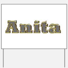 Anita Gold Diamond Bling Yard Sign