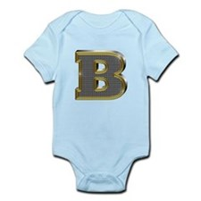 B Gold Diamond Bling Body Suit