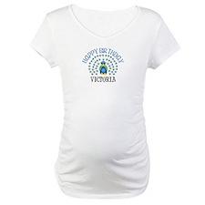 Happy Birthday VICTORIA (peac Shirt
