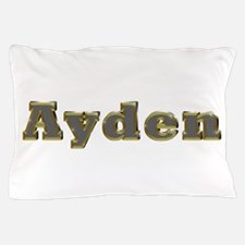 Ayden Gold Diamond Bling Pillow Case