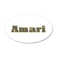 Amari Gold Diamond Bling Wall Decal