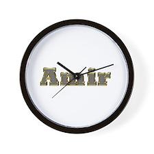 Amir Gold Diamond Bling Wall Clock