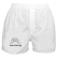 I Deserve Break Funny Passover Boxer Shorts
