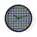 Tartan - Gala Water dist. Wall Clock