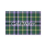 Tartan - Gala Water dis Rectangle Magnet (10 pack)