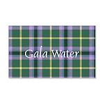 Tartan - Gala Water dist. 20x12 Wall Decal