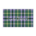 Tartan - Gala Water dist. 35x21 Wall Decal
