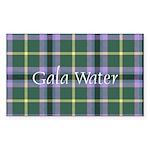 Tartan - Gala Water dist Sticker (Rectangle 10 pk)
