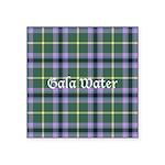 Tartan - Gala Water dist. Square Sticker 3
