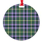 Tartan - Gala Water dist. Round Ornament